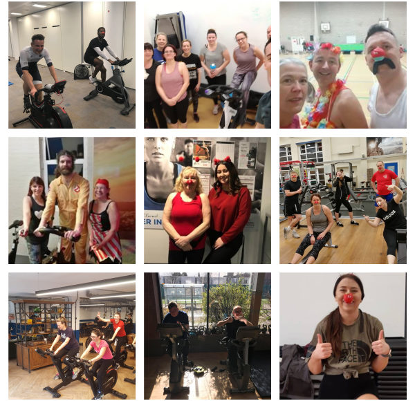 Our members and staff sweat out the miles in aid of Comic Relief 2019