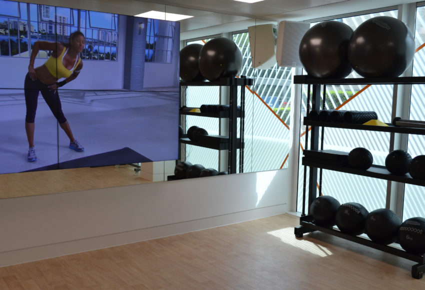 Opening of brand new fitness and wellbeing facility on behalf of global retail giants
