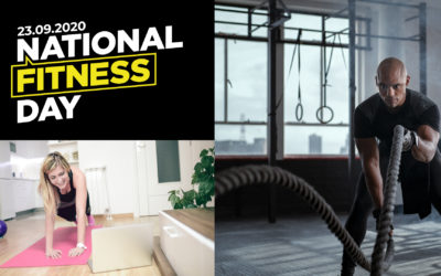 3d leisure celebrate National Fitness Day 2020
