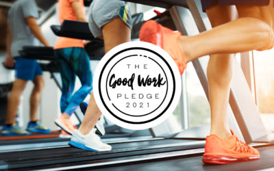 3d leisure signs 'The Good Work Pledge'